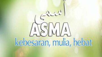 maksud nama islam asma
